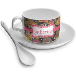 Birds & Butterflies Tea Cups (Personalized)