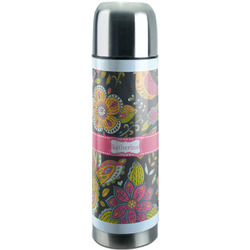 Birds & Butterflies Stainless Steel Thermos (Personalized)