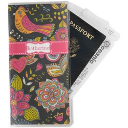 Birds & Butterflies Travel Document Holder