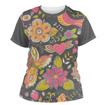 Birds & Butterflies Women's Crew T-Shirt (Personalized)