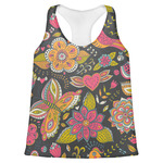 Birds & Butterflies Womens Racerback Tank Top (Personalized)