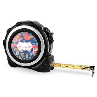 Owl & Hedgehog Tape Measure - 16 Ft (Personalized)