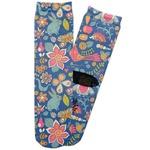 Owl & Hedgehog Adult Crew Socks (Personalized)