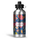 Owl & Hedgehog Water Bottle - Aluminum - 20 oz (Personalized)