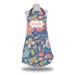 Owl & Hedgehog Apron (Personalized)