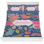 Owl & Hedgehog Comforters (Personalized)