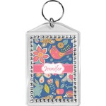 Owl & Hedgehog Bling Keychain (Personalized)