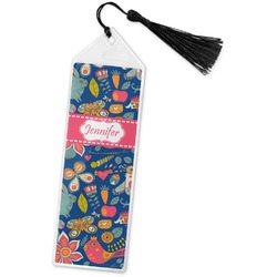 Owl & Hedgehog Book Mark w/Tassel (Personalized)