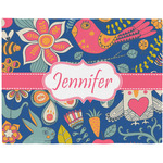 Owl & Hedgehog Placemat (Fabric) (Personalized)
