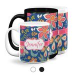 Owl & Hedgehog Coffee Mugs (Personalized)