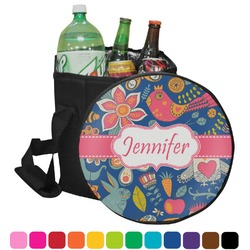 Owl & Hedgehog Collapsible Cooler & Seat (Personalized)