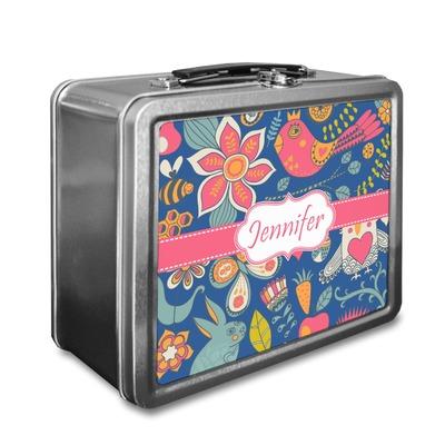 Owl & Hedgehog Lunch Box (Personalized)