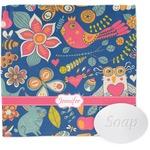 Owl & Hedgehog Wash Cloth (Personalized)
