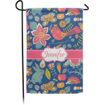 Owl & Hedgehog Garden Flag - Single or Double Sided (Personalized)