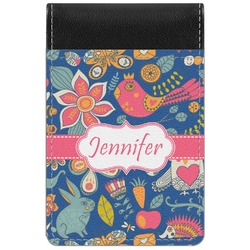 Owl & Hedgehog Genuine Leather Small Memo Pad (Personalized)
