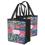 Owl & Hedgehog Grocery Bag (Personalized)