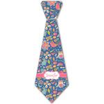 Owl & Hedgehog Iron On Tie - 4 Sizes w/ Name or Text