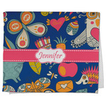 Owl & Hedgehog Kitchen Towel - Full Print (Personalized)