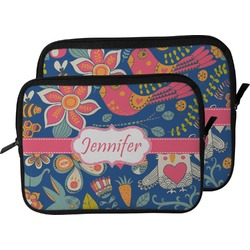 Owl & Hedgehog Laptop Sleeve / Case (Personalized)