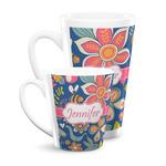 Owl & Hedgehog Latte Mug (Personalized)