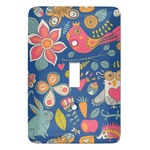 Owl & Hedgehog Light Switch Covers (Personalized)