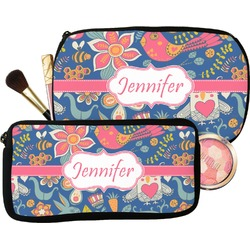 Owl & Hedgehog Makeup / Cosmetic Bag (Personalized)