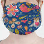 Owl & Hedgehog Face Mask Cover (Personalized)