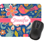 Owl & Hedgehog Mouse Pad (Personalized)