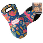 Owl & Hedgehog Neoprene Oven Mitt (Personalized)