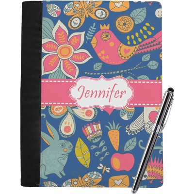 Owl & Hedgehog Notebook Padfolio (Personalized)