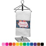 Owl & Hedgehog Finger Tip Towel (Personalized)