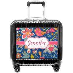 Owl & Hedgehog Pilot / Flight Suitcase (Personalized)