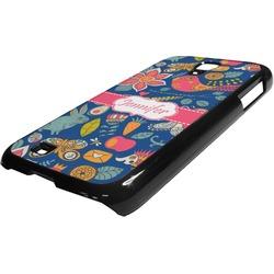 Owl & Hedgehog Plastic Samsung Galaxy 4 Phone Case (Personalized)