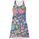 Owl & Hedgehog Racerback Dress (Personalized)