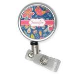 Owl & Hedgehog Retractable Badge Reel (Personalized)