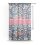 Owl & Hedgehog Sheer Curtains (Personalized)