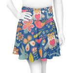 Owl & Hedgehog Skater Skirt (Personalized)
