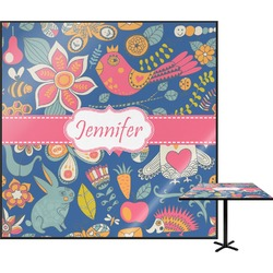 Owl & Hedgehog Square Table Top (Personalized)