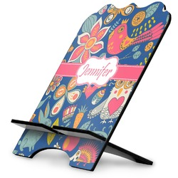 Owl & Hedgehog Stylized Tablet Stand (Personalized)