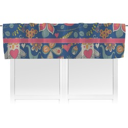 Owl & Hedgehog Valance (Personalized)