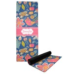 Owl & Hedgehog Yoga Mat (Personalized)