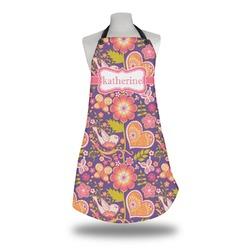 Birds & Hearts Apron (Personalized)