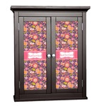 Birds & Hearts Cabinet Decal - Custom Size (Personalized)