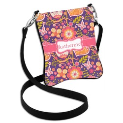 Birds & Hearts Cross Body Bag - 2 Sizes (Personalized)