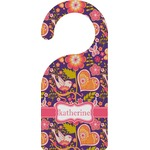 Birds & Hearts Door Hanger (Personalized)