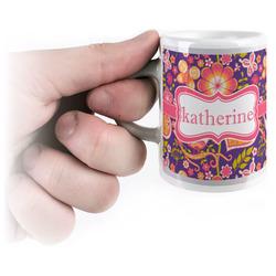 Birds & Hearts Espresso Mug - 3 oz (Personalized)