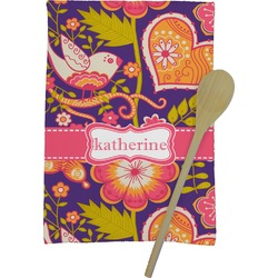 Birds & Hearts Kitchen Towel - Full Print (Personalized)