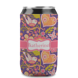 Birds & Hearts Can Sleeve (12 oz) (Personalized)