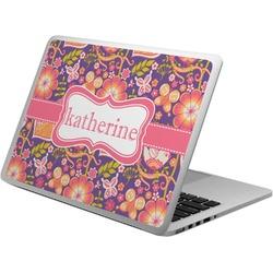 Birds & Hearts Laptop Skin - Custom Sized (Personalized)