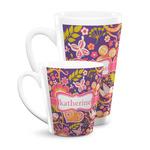 Birds & Hearts Latte Mug (Personalized)